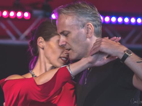 Elodie and Love dancing Tango